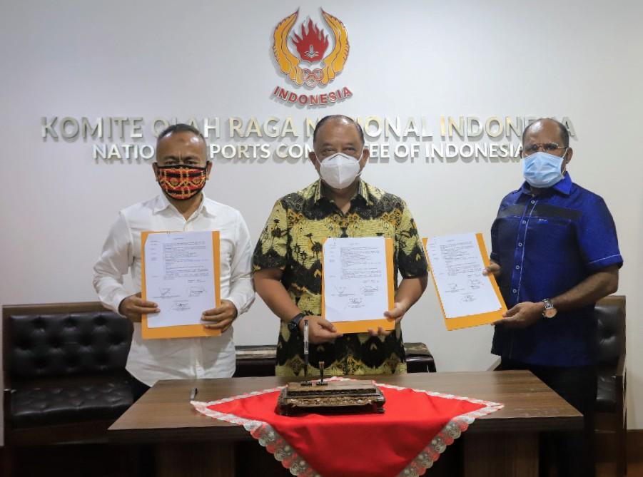 SKB KONI Pusat, PWI Pusat Dan PB.PON XX: Pendaftaran Wartawan Peliput PON Papua Diperpanjang